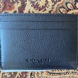 Coach Men's ID/Card Money-Clip Holder